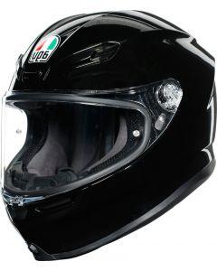 AGV K6 Glossy Black 001