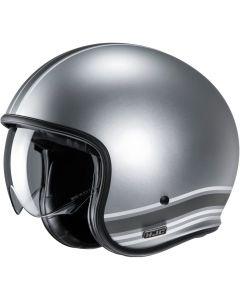 HJC V30 Senti Grey 888