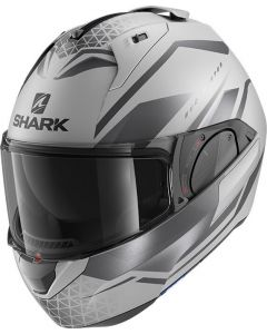 Shark Evo ES Yari Matt Silver/Anthracite/Black SAK