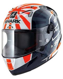 Shark Race-R PRO Zarco 2019 Blue/White/Orange BWO