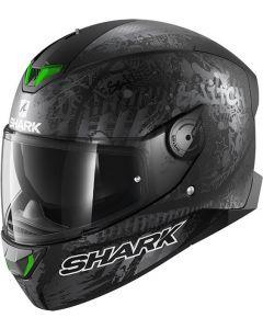 Shark Skwal 2 Switch Rider Matt Black/Anthracite/Silver KAS