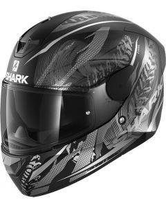 Shark D-Skwal 2 Shigan Matt Black/Silver/Silver KSS