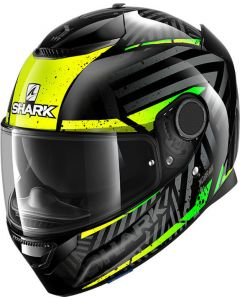 Shark Spartan 1.2 Kobrak Black/Yellow/Green KYG