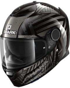 Shark Spartan 1.2 Kobrak Black/Anthracite/Anthracite KAA