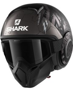 Shark Street Drak Crower Matt Black/Anthracite/Silver KAS