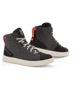 REV'IT Delta H2O Shoes Black/White