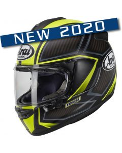 Arai Chaser-X Spine Fluor Yellow