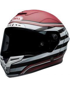 BELL Race Star DLX Flex RSD The Zone Matt/Gloss White/Candy Red