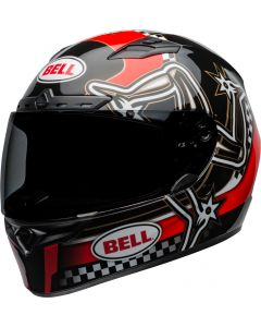 BELL Qualifier DLX Mips Isle of Man 2020 Gloss Red/Black