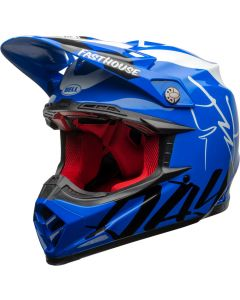 BELL Moto-9 Flex Fasthouse DID 20 Gloss Blue/White