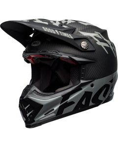 BELL Moto-9 Flex Fasthouse WRWF Zwart/Wit/Grijs