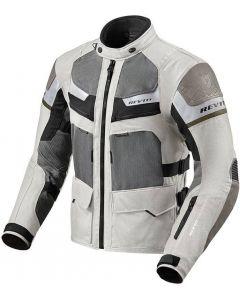 REV'IT Cayenne Pro Jacket Light Grey/Green