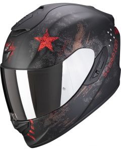 Scorpion EXO-1400 AIR Asio Matt Black/Red