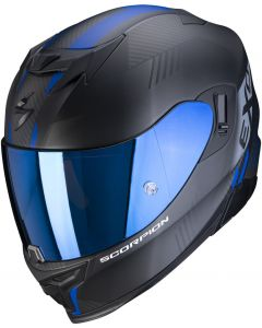 Scorpion EXO-520 AIR Laten Matt Black/Blue