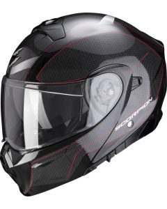 Scorpion EXO-930 Cielo Pearl Black/Red