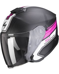 Scorpion EXO-S1 Cross/Ville Matt Black/Pink