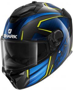 Shark Spartan GT Carbon Kromium Carbon/Chrome/Blue DUB