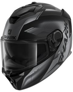 Shark Spartan GT Elgen Matt Black/Antracite/Antracite KAA