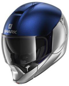 Shark Evojet Silver/Blue/Silver SBS