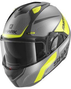 Shark Evo GT Encke Matt Antracite/Yellow/Black AYK