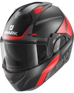 Shark Evo GT Encke Matt Black/Red/Antracite KRA
