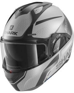 Shark Evo GT Encke Matt Silver/Antracite/Black SAK