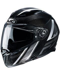 HJC F70 Eston Carbon Black/white 182