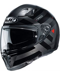 HJC I70 Watu Black/Grey 881