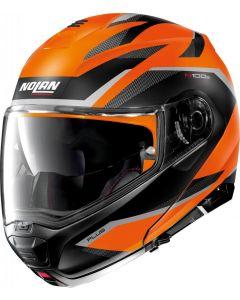 Nolan N100-5 Plus Overland N-Com Flat Led Orange/Black 39