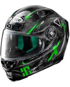 X-Lite X-803 ULTRA CARBON Darko Black/Green 67