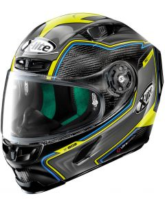 X-Lite X-803 ULTRA CARBON Hangar Black/Grey/Yellow 71