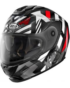 X-Lite X-903 ULTRA CARBON Creek N-Com Black/White/Red 35