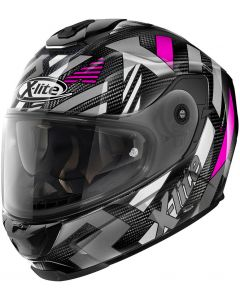 X-Lite X-903 ULTRA CARBON Creek N-Com Black/White/Purple 37