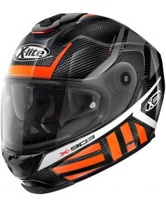 X-Lite X-903 ULTRA CARBON Cheyenne Black/Orange/White 45
