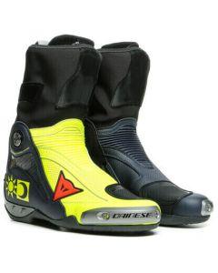 Dainese Axial D1 Replica Valentino Boots Giallo Fluo/Blu Reggiani 10C