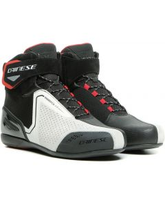 Dainese Energyca Air Shoes Black/White/Lava Red A66
