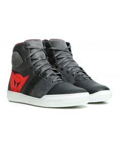 Dainese York Air Shoes Phantom/Red 06D