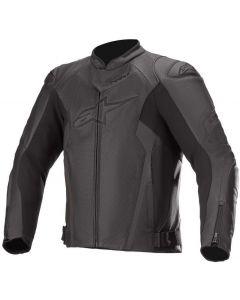 Alpinestars Faster V2 Airflow Leather Jacket Black/Black 1100