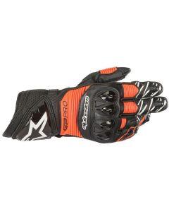 Alpinestars GP Pro R3 Gloves Black/Red/Fluo 1030