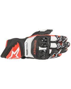 Alpinestars GP Pro R3 Gloves Black/White/Bright Red 1304