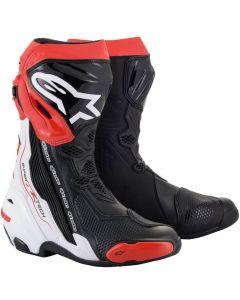 Alpinestars Supertech R 2021 Boots Black/White/Red 123