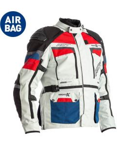 RST Adventure-X Airbag Jacket Blue/Red