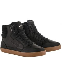 Alpinestars J-6 Waterproof Shoes Black/Gum 1084