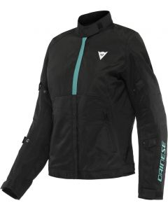 Dainese Risoluta Air Tex Lady Jacket Black/Acqua Green 26F