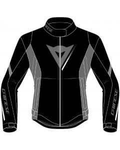 Dainese Veloce D-Dry Lady Jacket Black/Charcoal Gray/White 24G