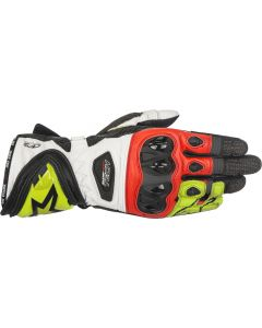 Alpinestars Supertech Gloves Black/Fluo Yellow/Red 1536