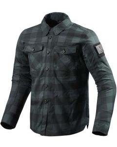 REV'IT Bison Shirt Black/Grey