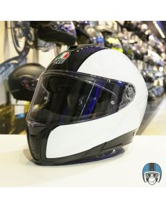 AGV Sportmodular Carbon/White 004
