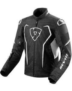 REV'IT Vertex H2O Jacket Black/White