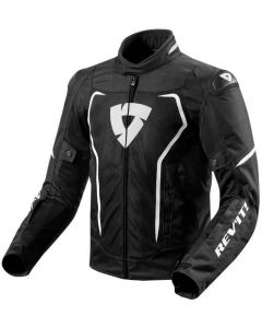 REV'IT Vertex Air Jacket Black/White